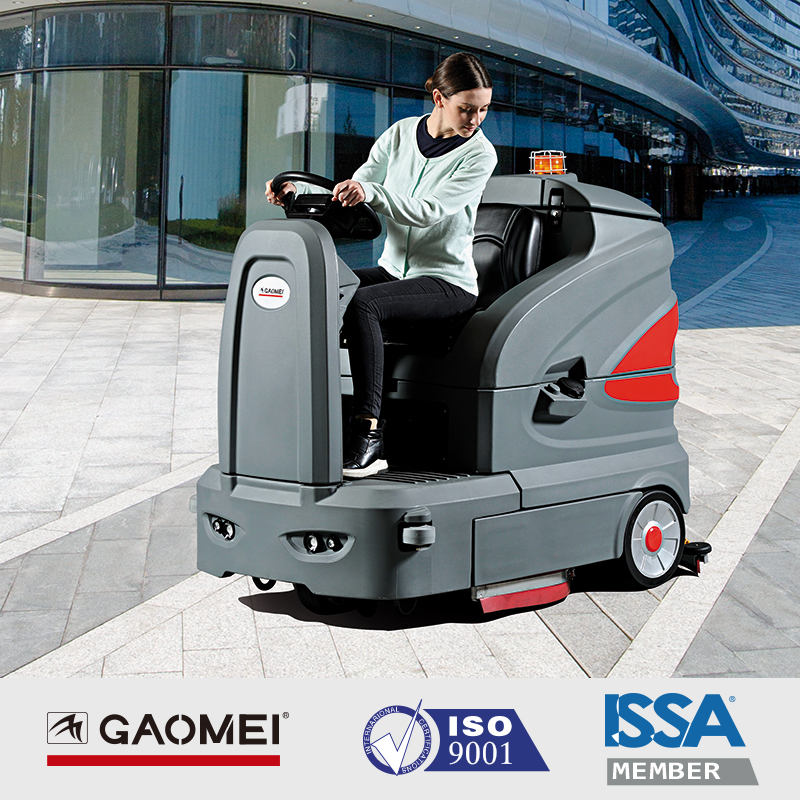 S-160智慧型驾驶式洗地机