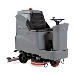 昆山GM110BT85高美电瓶驾驶自走双刷洗地机