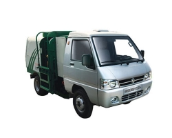 新能源扫地车自装卸式垃圾车(吊桶车)